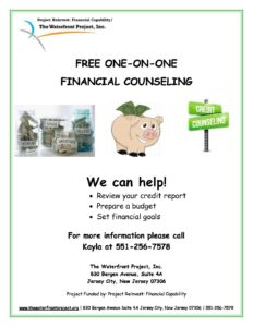Financial Counseling – The Waterfront Project, Inc